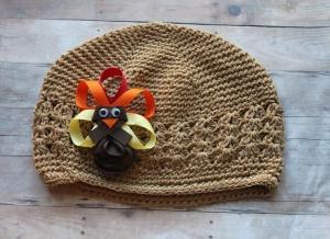 Turkey Crochet Hat from Bownanza Utah